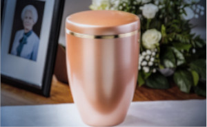 urna de cremación
