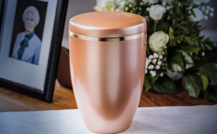 urna de cenizas para luego de cremación