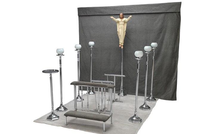 modelo de capilla ardiente