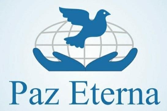 logo funeraria paz eterna