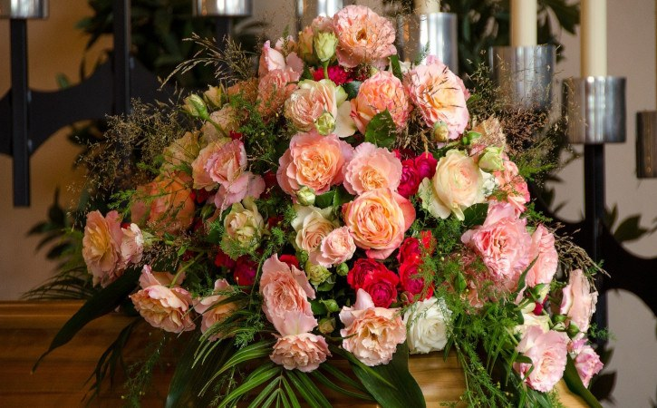 flores para velorio