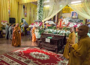 ritual funerario en la religión budista